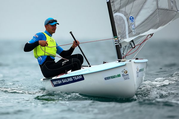 Scott Giles Mens Finn Sailing World Cup 2016