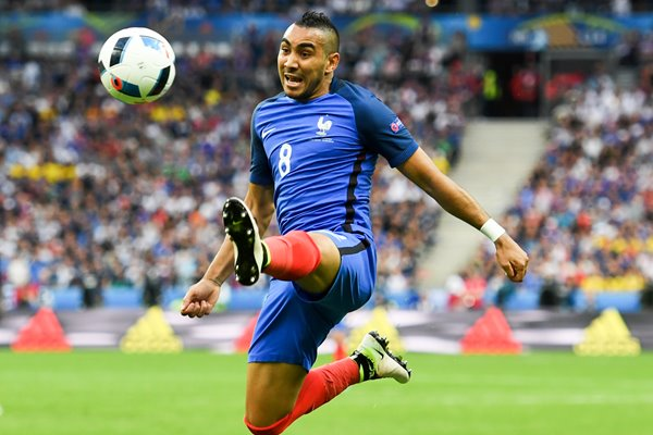 Dimitri Payet France v Romania Stade de France 2016
