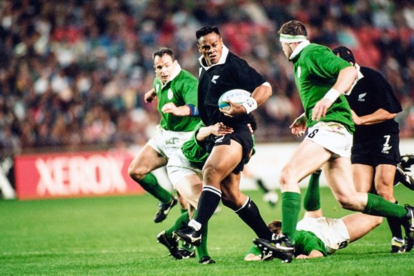 Jonah Lomu New Zealand v Ireland World Cup 1995