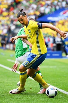 Zlatan Ibrahimovic Sweden v Ireland Paris Europeans 2016