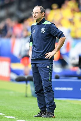 Martin O'Neill Manager Ireland v Sweden Paris 2016