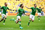 Wes Hoolahan scores Ireland v Sweden Paris 2016 Mounts