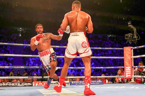 Anthony Joshua knocks out Dominic Breazeale O2 2016