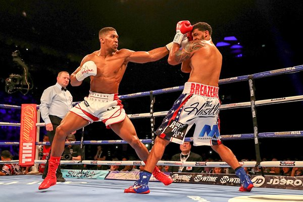 Anthony Joshua v Dominic Breazeale O2 London 2016