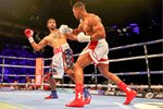 Anthony Joshua knocks out Dominic Breazeale O2 2016 Prints