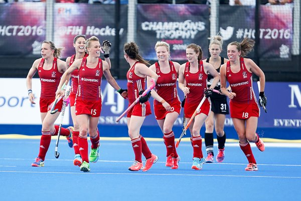 Alex Dawson Great Britian Women's Hockey Champions Trophy 2016