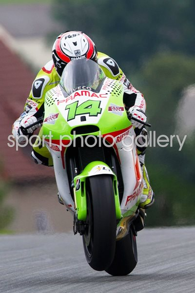 Randy De Puniet Pramac Team 2011