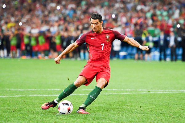 Cristiano Ronaldo Portugal penalty Europeans 2016