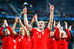 Gareth Bales Wales beat Belgium Quarter Final Lille 2016 Mounts