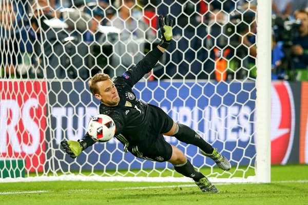 Manuel Neuer Germany penalty save Europeans 2016