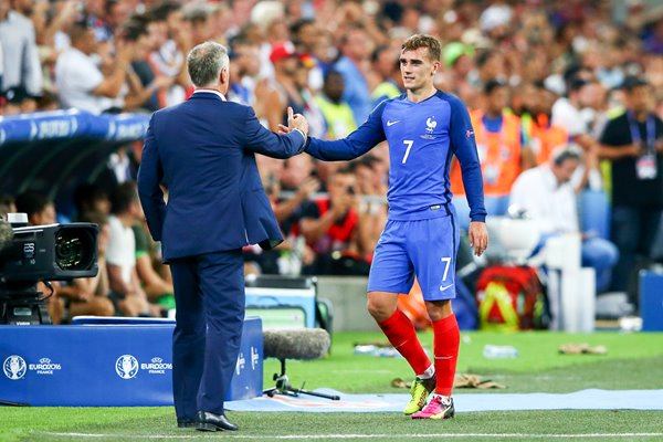 Didier Deschamps & Antoine Griezmann France Marseille 2016