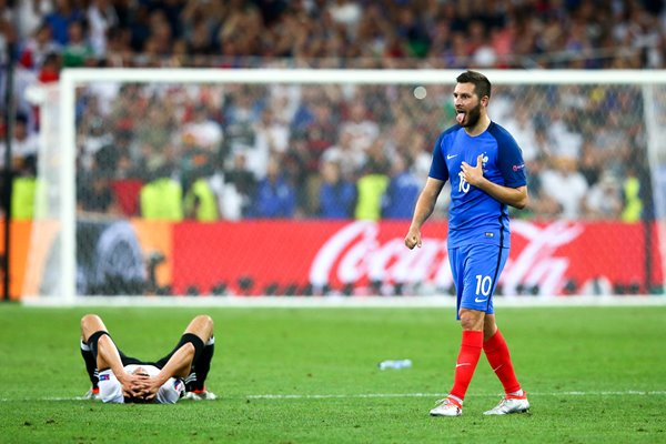 Andre-Pierre Gignac France v Germany Marseille 2016