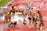 3000m Steeplechase Europeans Amsterdam 2016 Prints