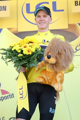 Chris Froome Yellow Jersey Stage 8 Tour 2016