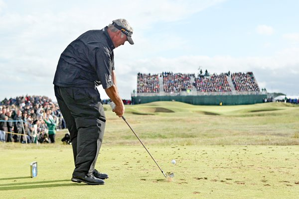 Darren Clarke Final Round Open 2011