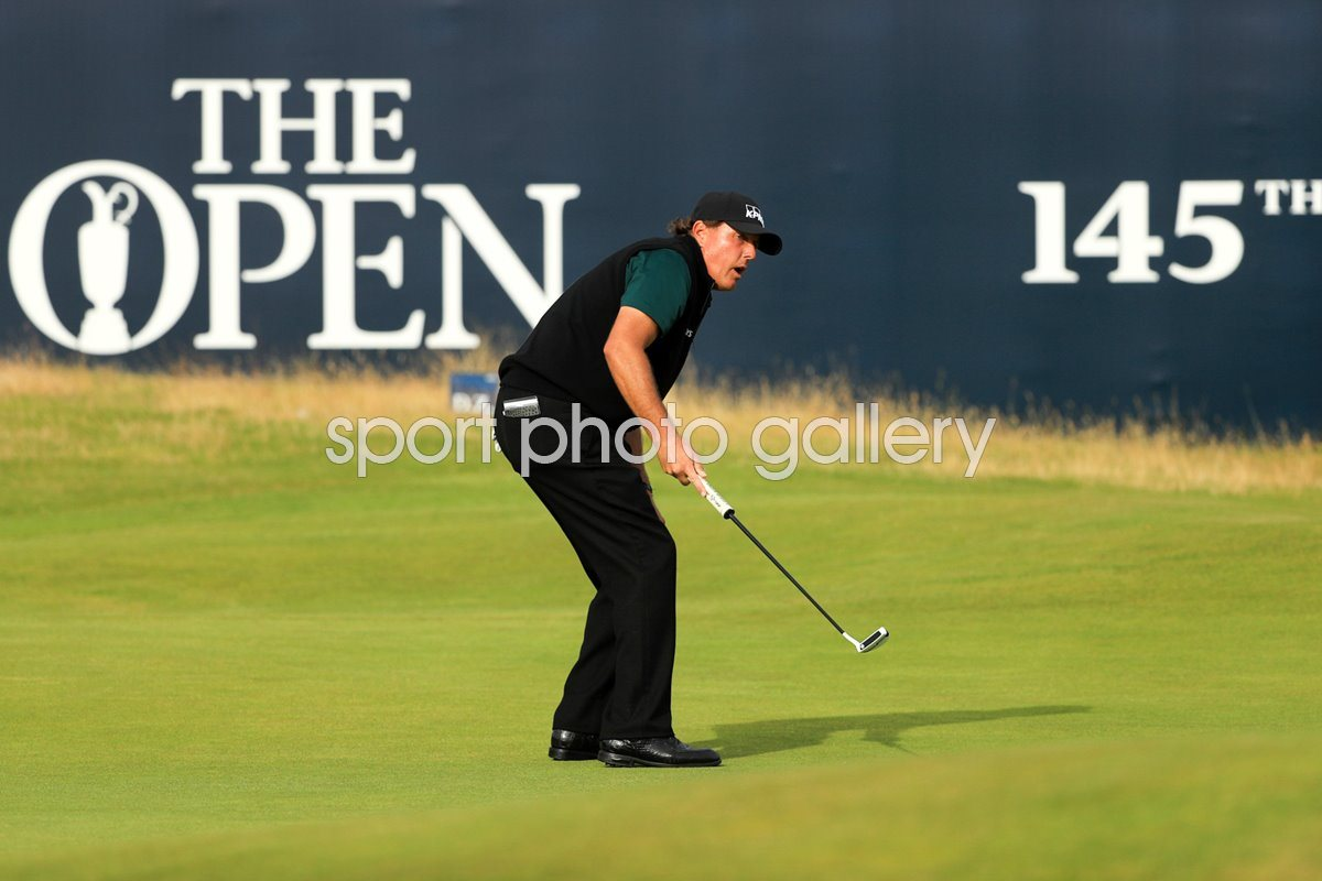 Phil Mickelson 63 Round 1 Open Troon 2016