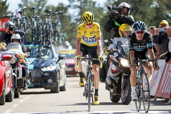 Chris Froome Sky Mont Ventoux Stage 12 2016
