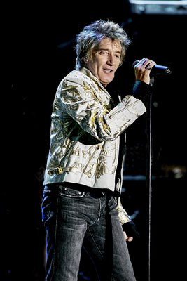 Rod Stewart performs in NYC