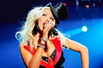 Christina Aguilera on stage Prints