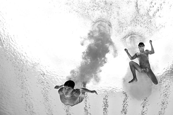 Diving Edickson Contreras and Enrique Rojas Venezuela