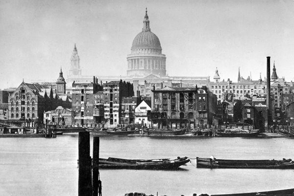 St Paul's Across The River 1800s