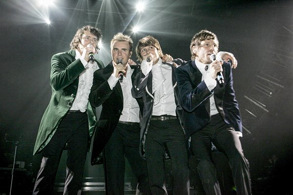 Take That perform in Newcastle