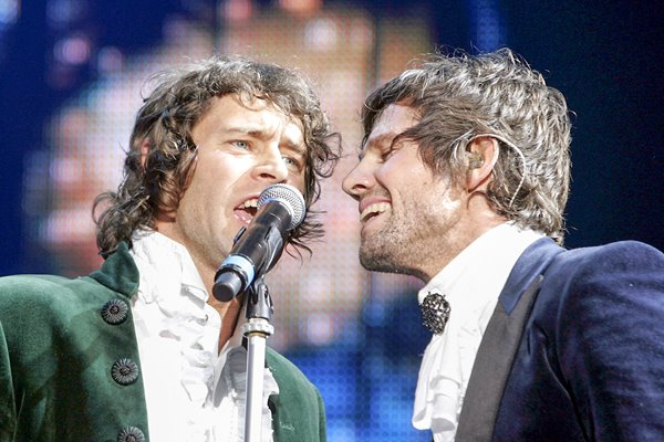 Howard Donald and Jason Orange