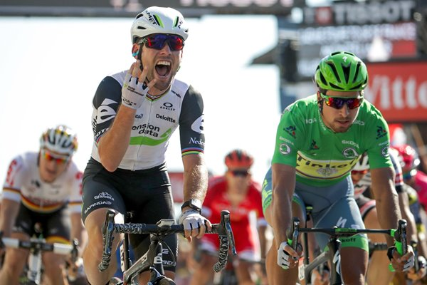 Mark Cavendish Great Britain wins 4th Tour 2016 Stage