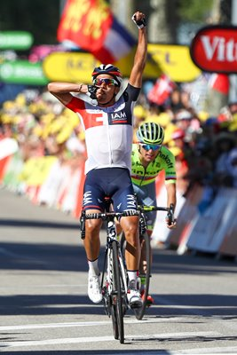 Jarlinson Pantano Colombia wins Stage 15 Tour 2016