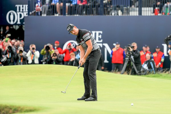 Henrik Stenson Final Round 63 Open Troon 2016