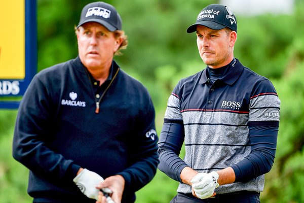 Stenson & Mickelson Dual of the Sons Troon 2016
