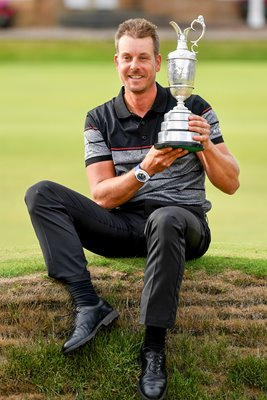 2016 Henrik Stenson British Open Champion Troon