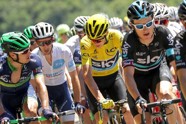Adam Yates & Chris Froome Great Britain Tour 2016