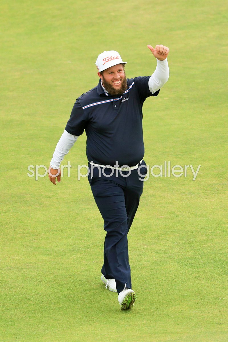 Andrew Johnston England British Open Troon 2016