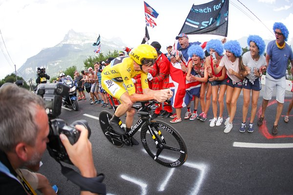 Chris Froome wins Stage 18 Time Trial Tour 2016