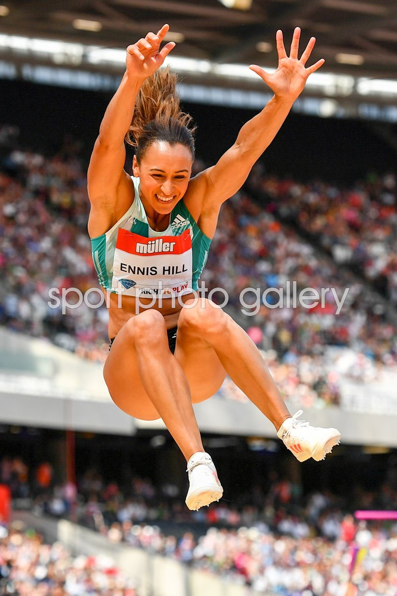 Jessica Ennis-Hill London Anniversary Games 2016