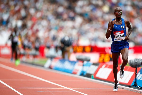 Mo Farah London Anniversary Games 2016