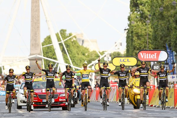 Chris Froome Team Sky Tour de France Champion 2016