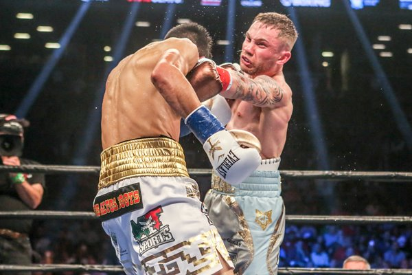 Carl Frampton v Leo Santa Cruz New York 2016