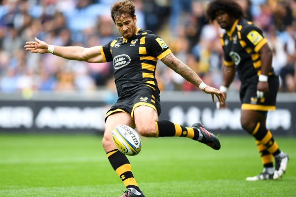 Danny Cipriani Wasps v Exeter Chiefs Coventry 2016