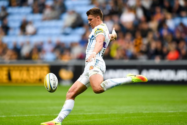 Henry Slade Exeter Chiefs v Wasps Coventry 2016