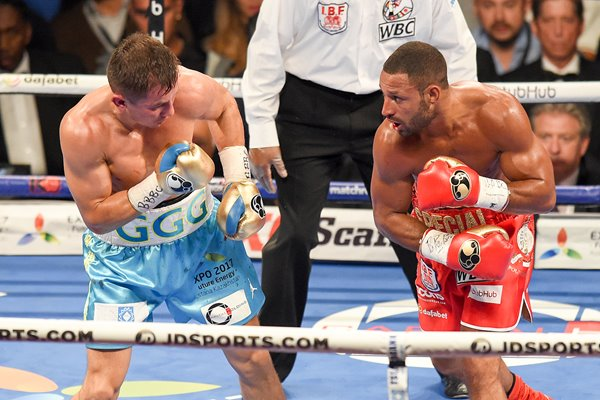Gennady Golovkin v Kell Brook London 2016