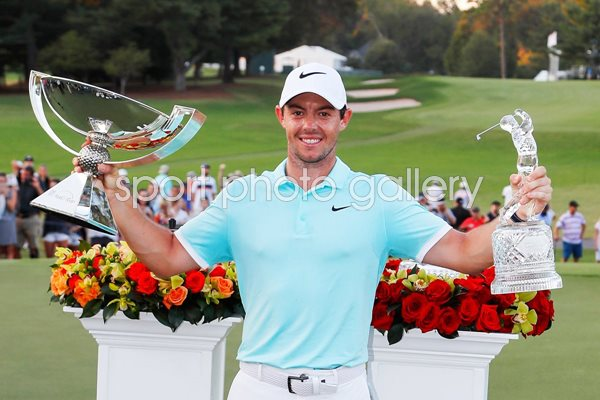 Rory McIlroy Tour & Fed Ex Cup Champion 2016
