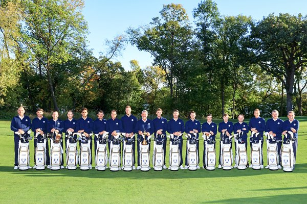 2016 Ryder Cup Team with Vice Captains