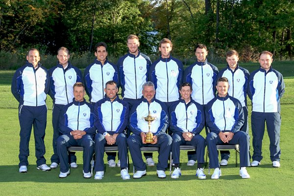 2016 European Ryder Cup Team Hazeltine