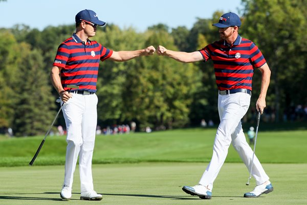 Zach Johnson & Jimmy Walker USA 2016 Ryder Cup