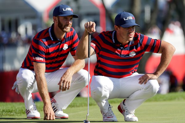 Dustin Johnson & Brooks Koepka USA 2016 Ryder Cup