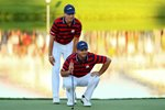 Jordan Spieth & Patrick Reed USA 2016 Ryder Cup  Canvas