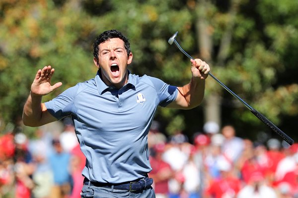 Rory McIlroy v Patrick Reed Ryder Cup 2016