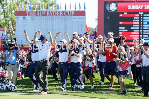USA Regain The Ryder Cup Hazeltine 2016